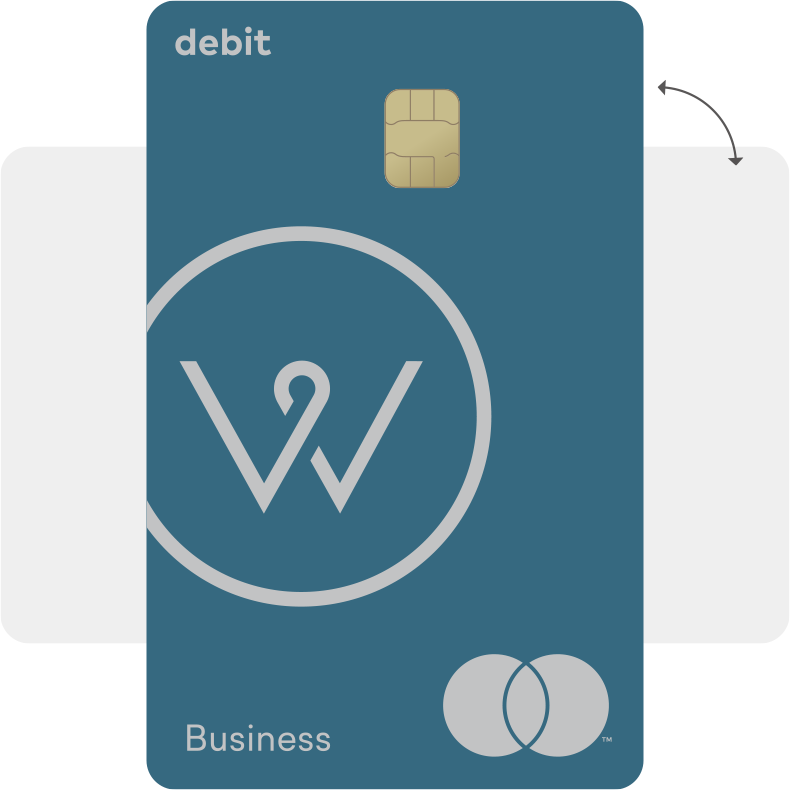 Vertical Debit Card Design