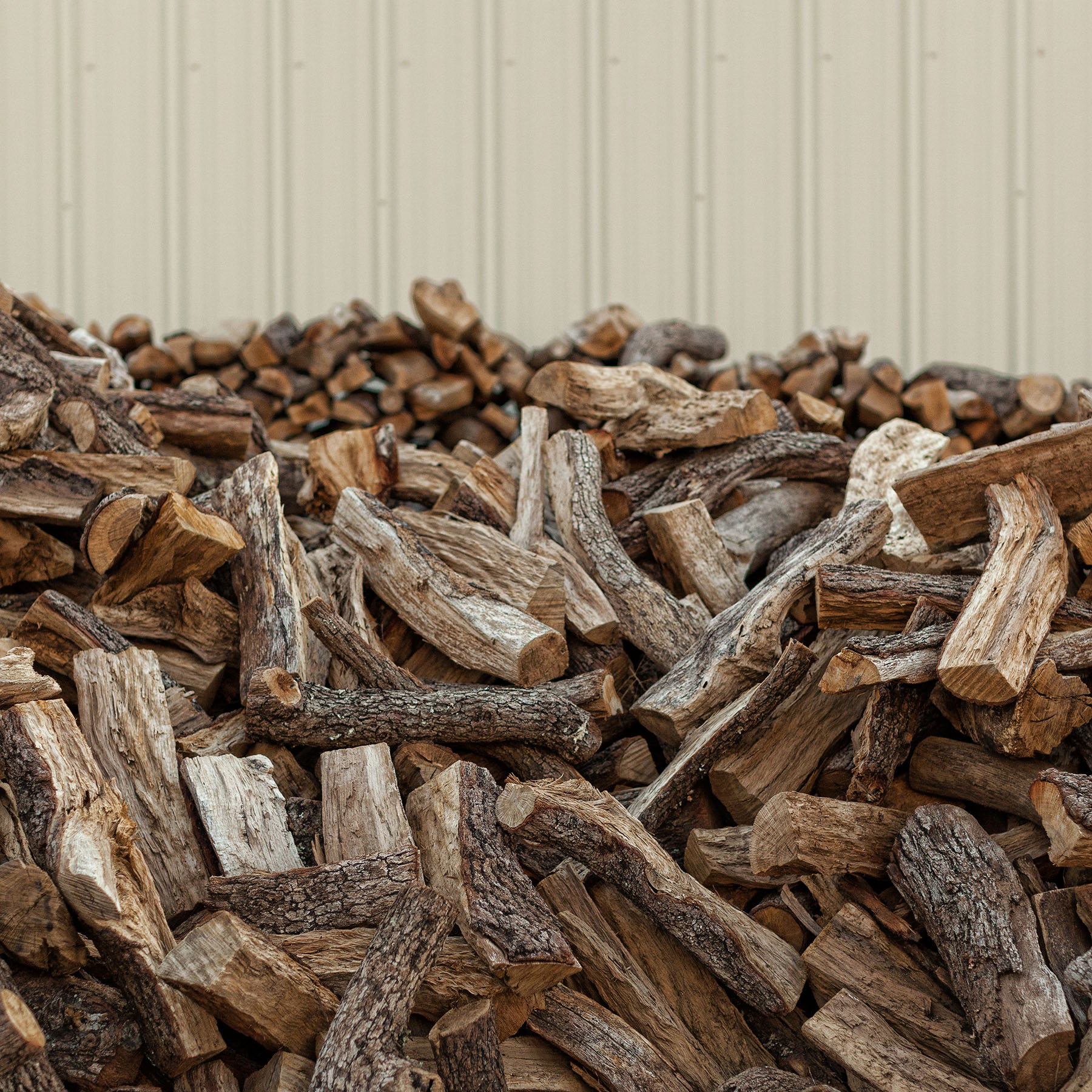 Evie Mae's BBQ Wood Pile